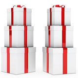 Christmas gift stack Royalty Free Stock Image