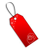 Christmas Gift Tag Stock Photos