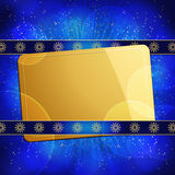 Christmas gift tag background Royalty Free Stock Photo
