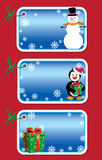 Christmas gift tags Royalty Free Stock Photo