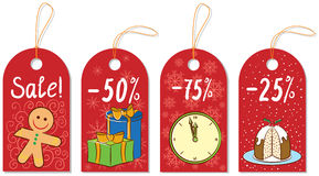 Christmas Gift Tags Royalty Free Stock Image