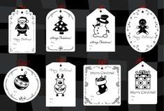 Christmas gift tags Royalty Free Stock Photography
