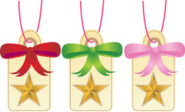 Christmas Gift Tags - Star Royalty Free Stock Photos