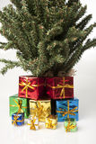 Christmas gift tree Stock Image