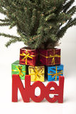 Christmas gift tree Stock Photography