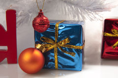 Christmas gift tree Royalty Free Stock Image