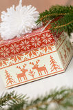 A Christmas gift Stock Images