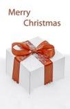 The Christmas gift   Stock Photo