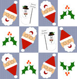 Christmas gift wrap Royalty Free Stock Photos