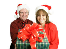 Christmas Gift For You Royalty Free Stock Photos