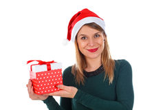 Christmas gift for You Royalty Free Stock Photo