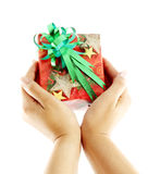 Christmas gift for you Royalty Free Stock Images