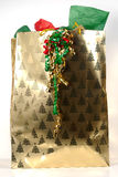 Christmas Giftbag Stock Image