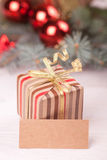 Christmas giftbox Royalty Free Stock Image