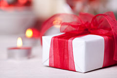 Christmas giftbox Stock Photos