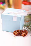 Christmas giftbox Stock Photography