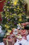 Christmas Gifts国王 库存图片