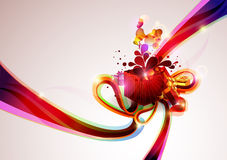 Christmas gifts. Of different color vector illustration