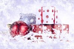Christmas Gifts! Stock Photo