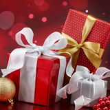Christmas gifts royalty free stock photography