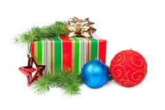Christmas gifts Royalty Free Stock Images