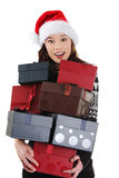 Christmas gifts. Royalty Free Stock Images