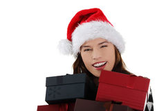 Christmas gifts. Stock Image