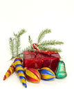 Christmas gifts. And New Year decorations Stock Image