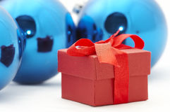 Christmas gifts. Isolation on white Royalty Free Stock Image