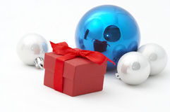 Christmas gifts. Isolation on white Stock Photo