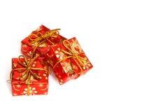 Christmas gifts stock image