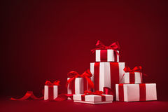Free Christmas Gifts Royalty Free Stock Photography - 46205707