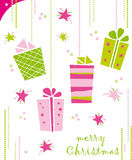 Christmas gifts Royalty Free Stock Photos