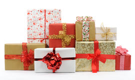 Free Christmas Gifts Stock Photography - 75629592