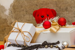 Christmas with gifts. Stock Image
