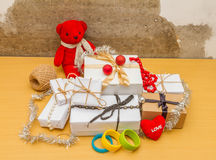 Christmas with gifts. Royalty Free Stock Photography