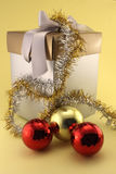 Christmas gifts and baubles Stock Photography