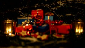 Christmas Gifts. stock video footage