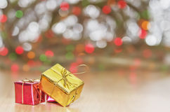 Christmas Gifts boxes Royalty Free Stock Photos