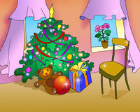 Christmas Gifts for Children Royalty Free Stock Photo