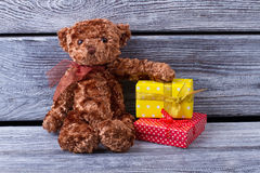 Christmas gifts for children. Stock Image