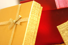 Christmas Gifts Closeups Royalty Free Stock Photo