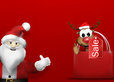 Christmas Gifts 3D Design Background Royalty Free Stock Photo