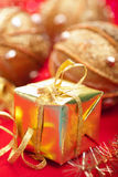 Christmas gifts and decoration Royalty Free Stock Photos