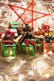 Christmas gifts Decoration Royalty Free Stock Photos