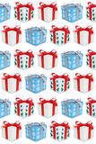 Christmas gifts gift box present presents background Royalty Free Stock Photos