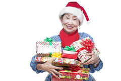 Christmas Gifts For Grandma Stock Photo