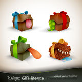 Christmas Gifts with Personality Stock Photography