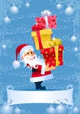 Christmas Gifts from Santa Royalty Free Stock Images