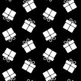 Christmas gifts seamless pattern Stock Photography